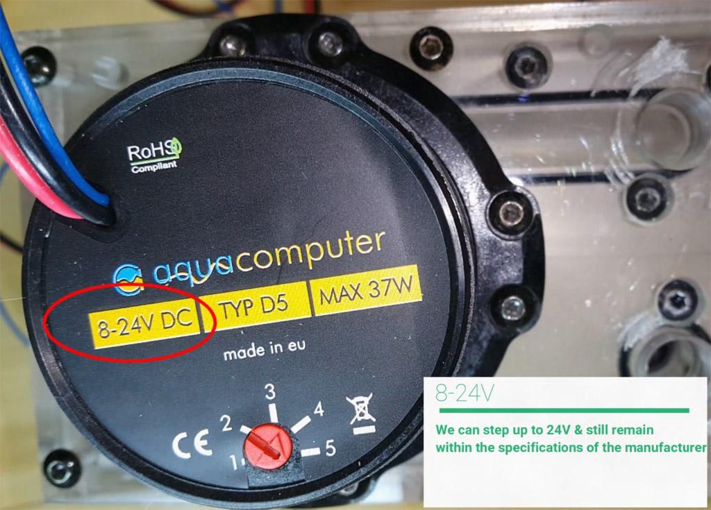 Aquacomputer D5 Pump