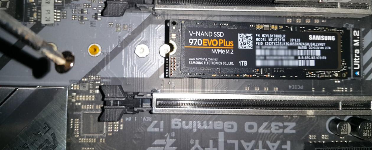 970 Evo Plus in Ultra M.2