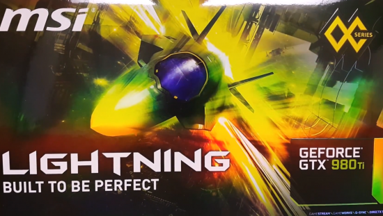 MSI 980 TI Lightning