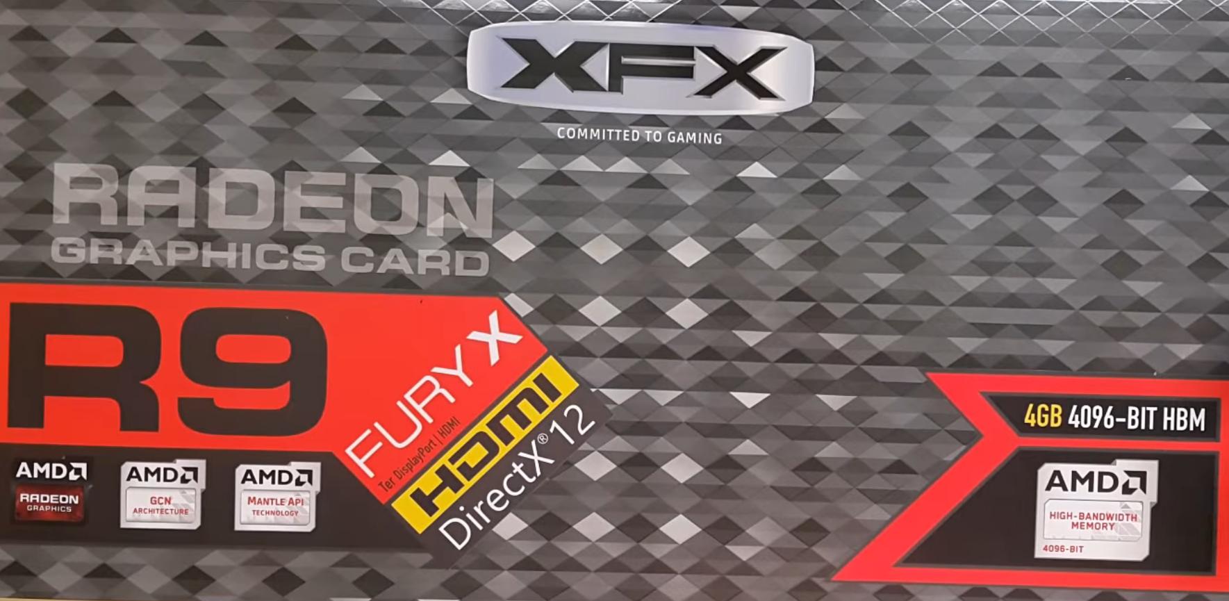 XFX Radeon R9 Fury X - Liquid Cooled (Unboxing)